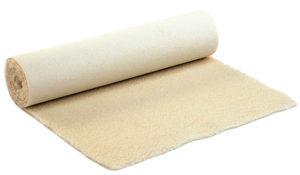 Lambswool yoga mat SURYA, extra thick, 100% natural