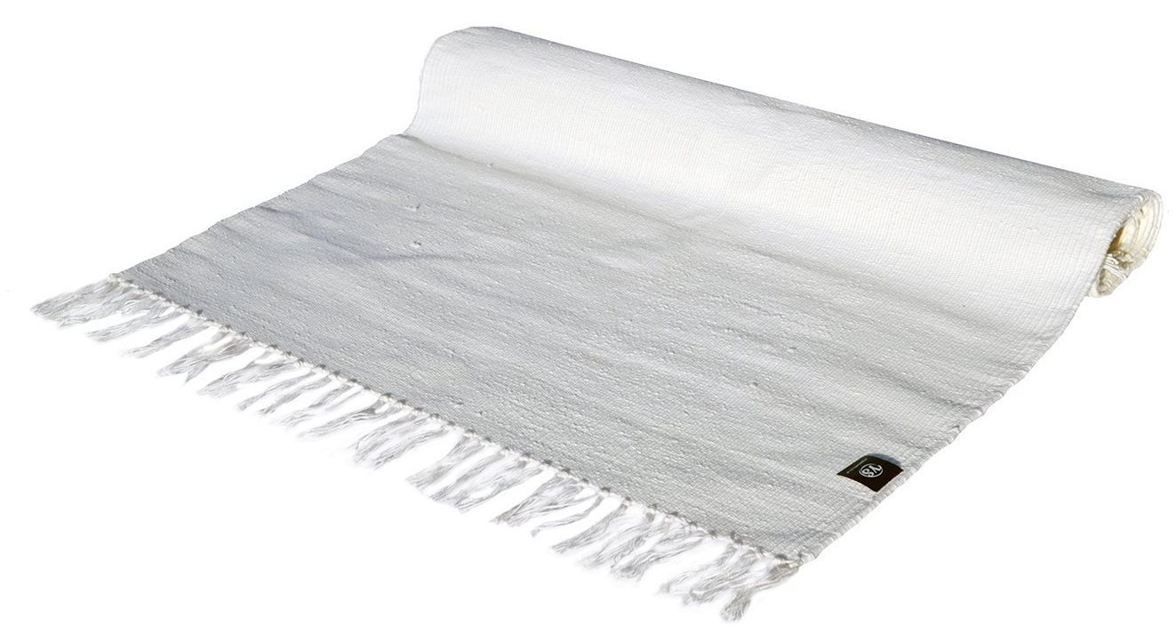 yoga studio cotton yoga rugs with tassels