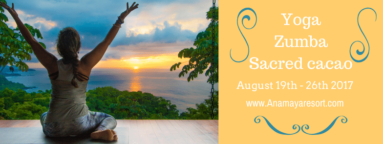 Retreat In Paradise ft YOGA and ZUMBA with Sacred Cacao Flavor!