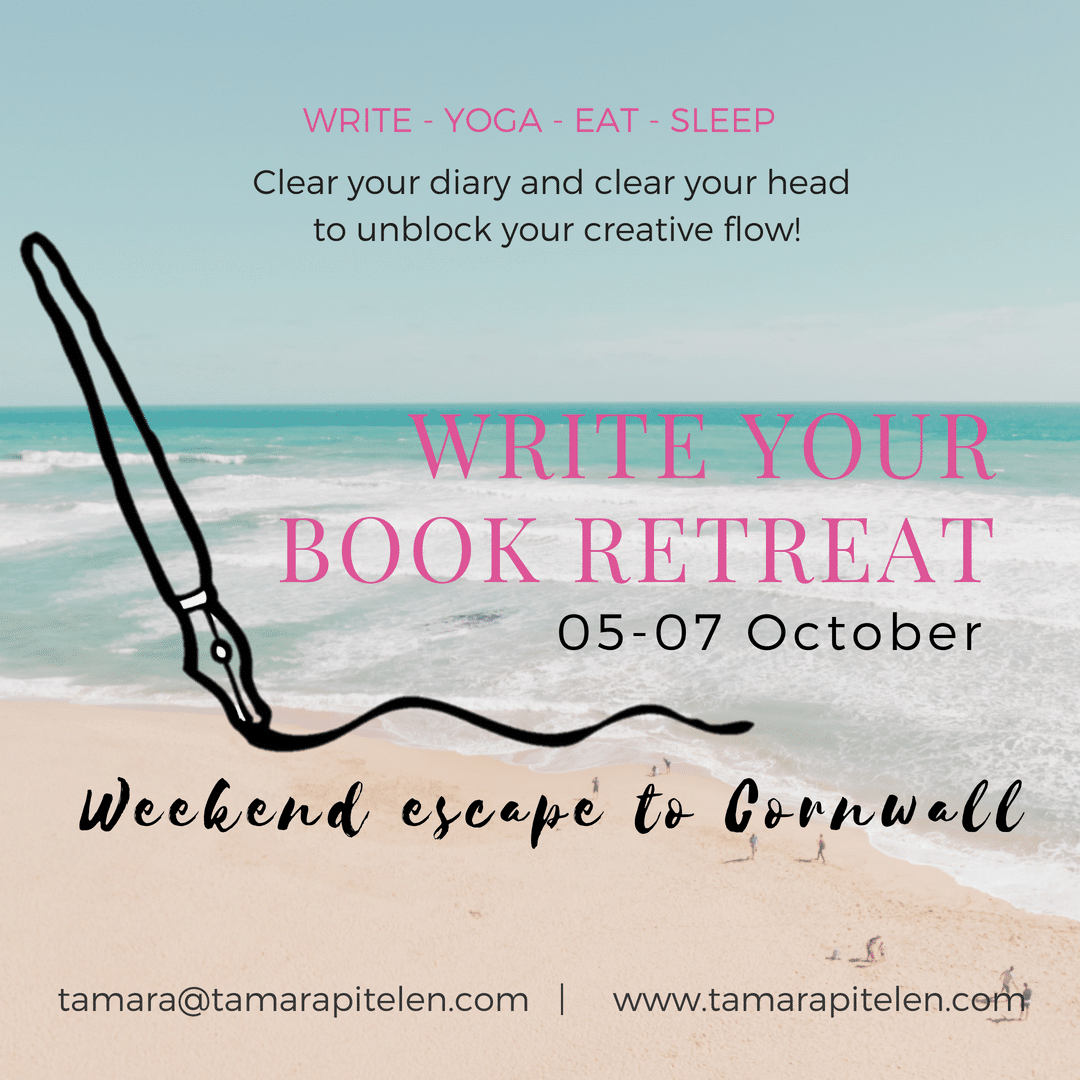 Write Your Book Weekend Retreat to Cornwall